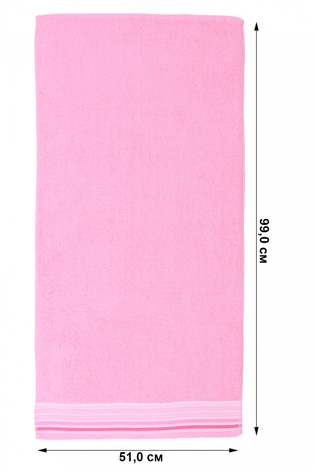 Купить розовое полотенце