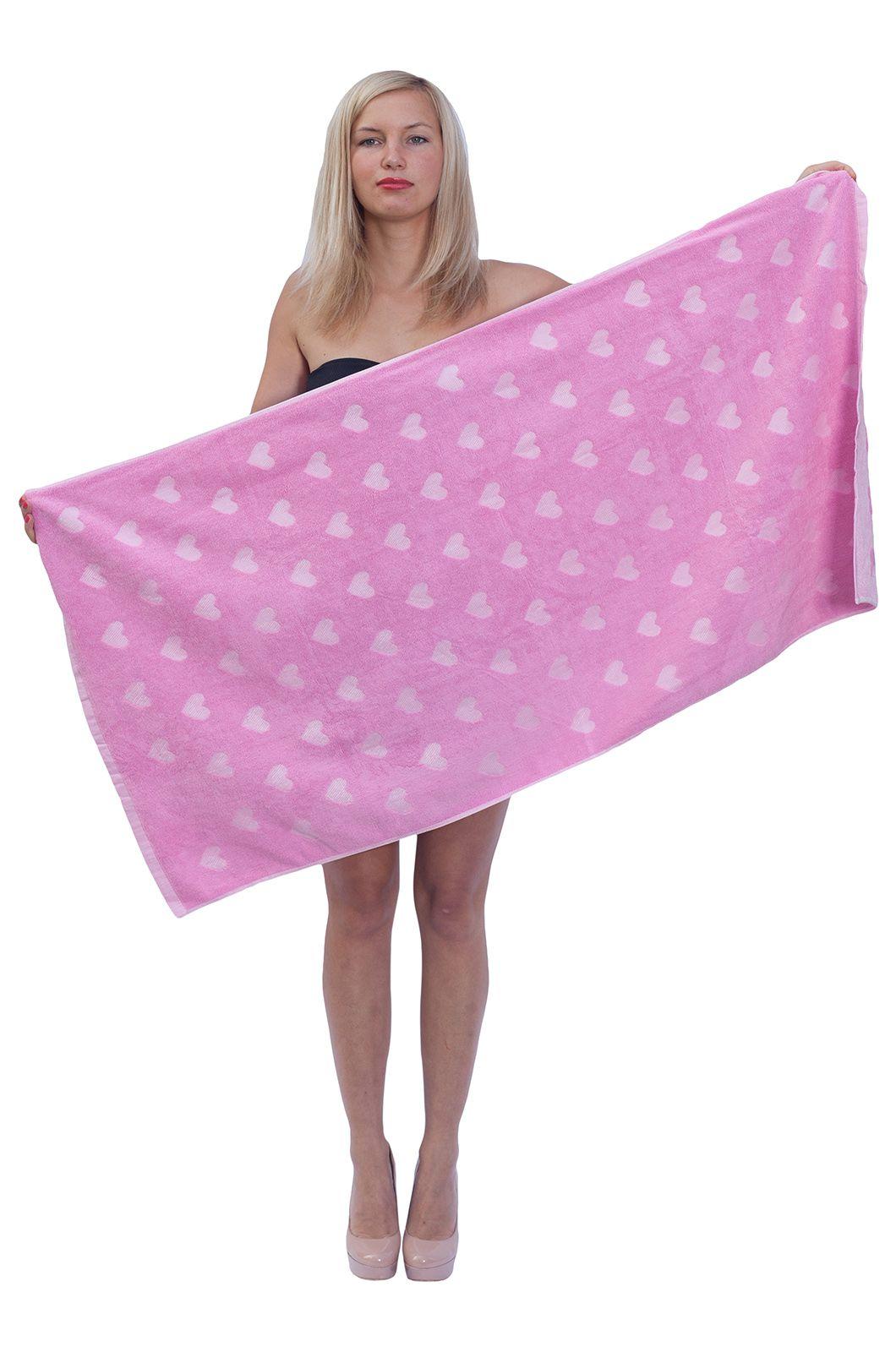 Розовое полотенце - купить в интернет-магазине