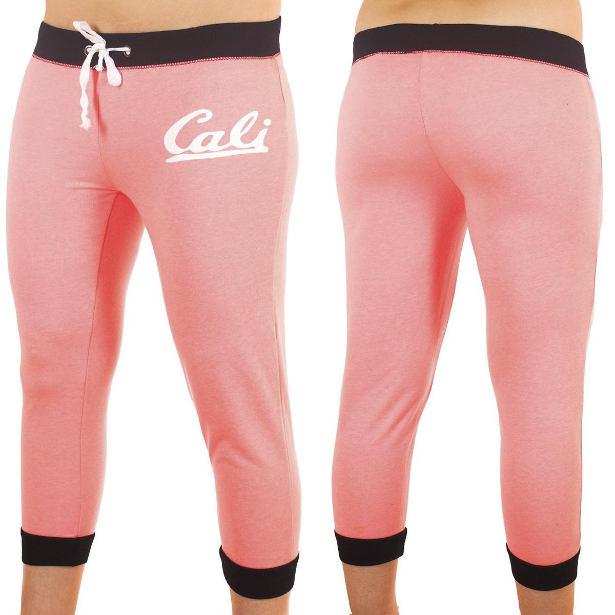 Розовые брючки капри Coco Limon для фитнес-тренинга
