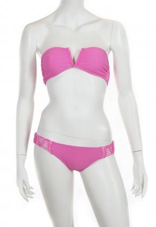 Розовый раздельный купальник Rip Curl.