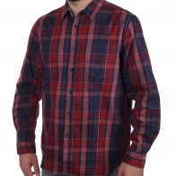 Только из ШОУРУМА! Красная мужская рубашка в клетку из BPC collection