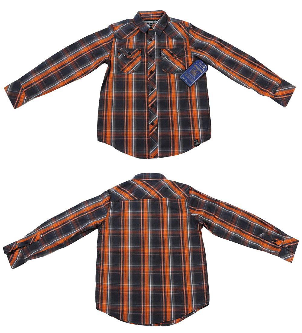Рубашка брендовая для детей и подростков Machine