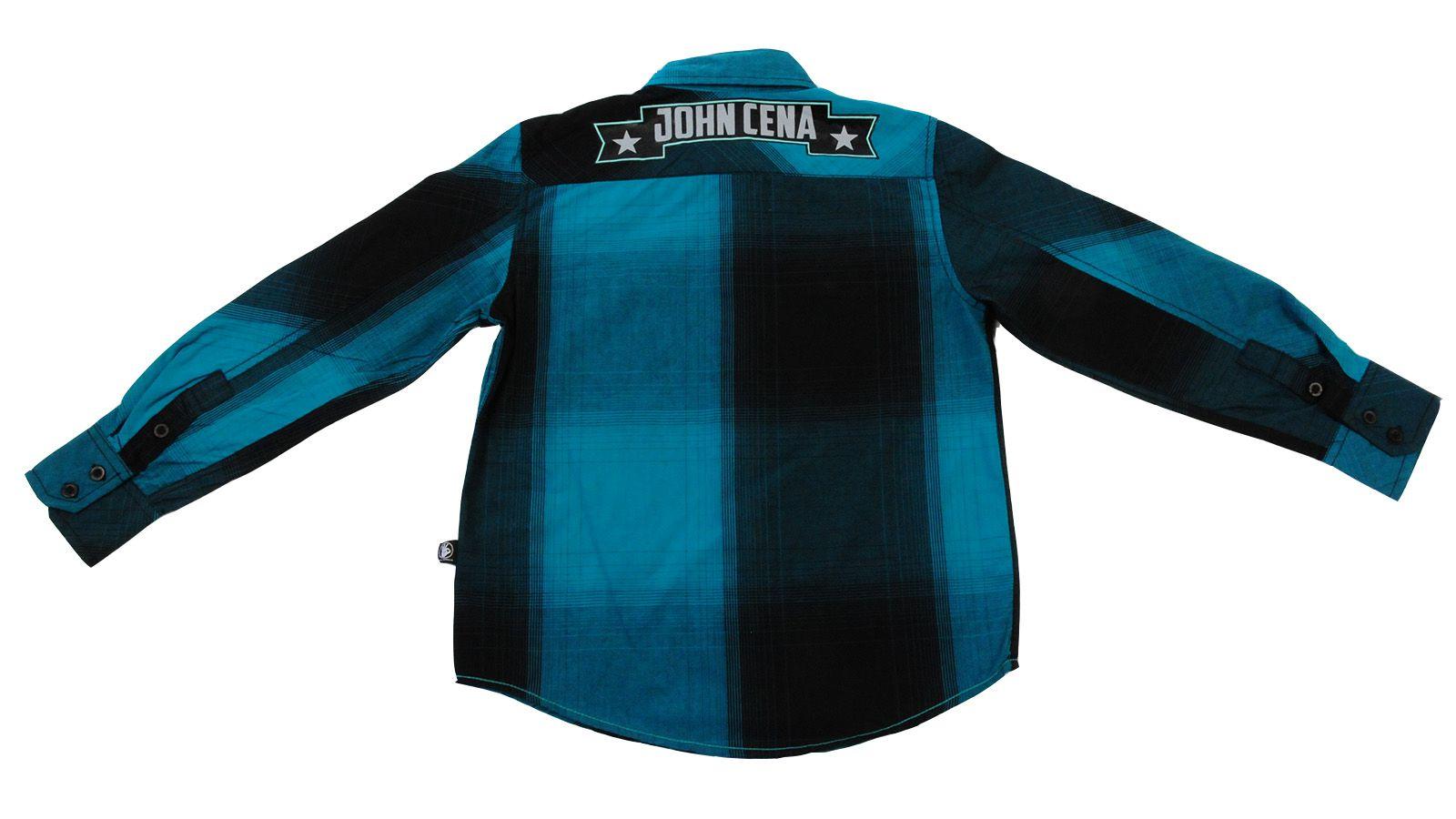 Рубашка для мальчиков от американского бренда Jhon Cena Never give up №35