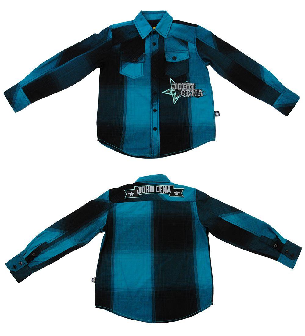 Рубашка для мальчиков от американского бренда Jhon Cena Never give up