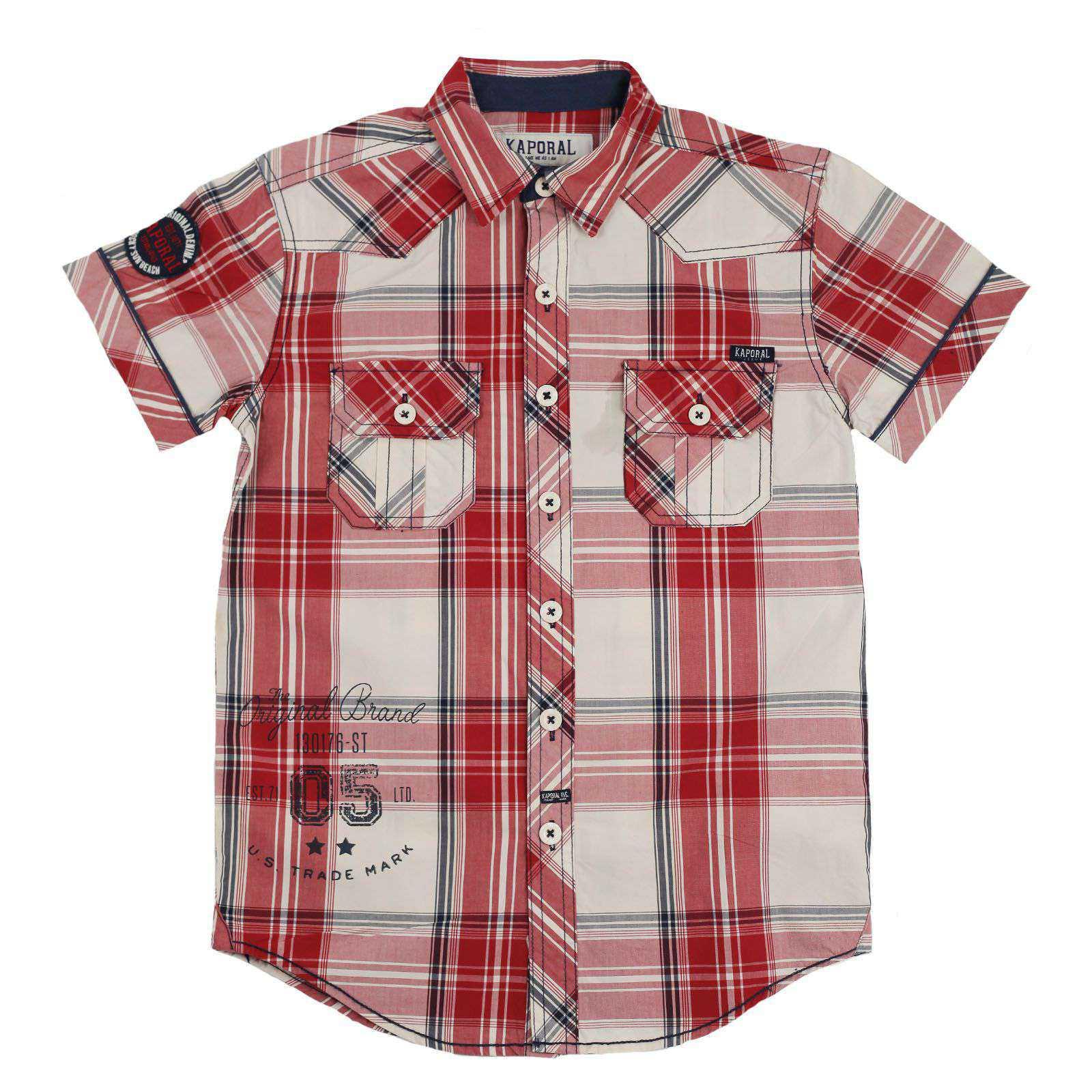 Рубашка для мальчиков в стиле casual от Kaporal (Франция)