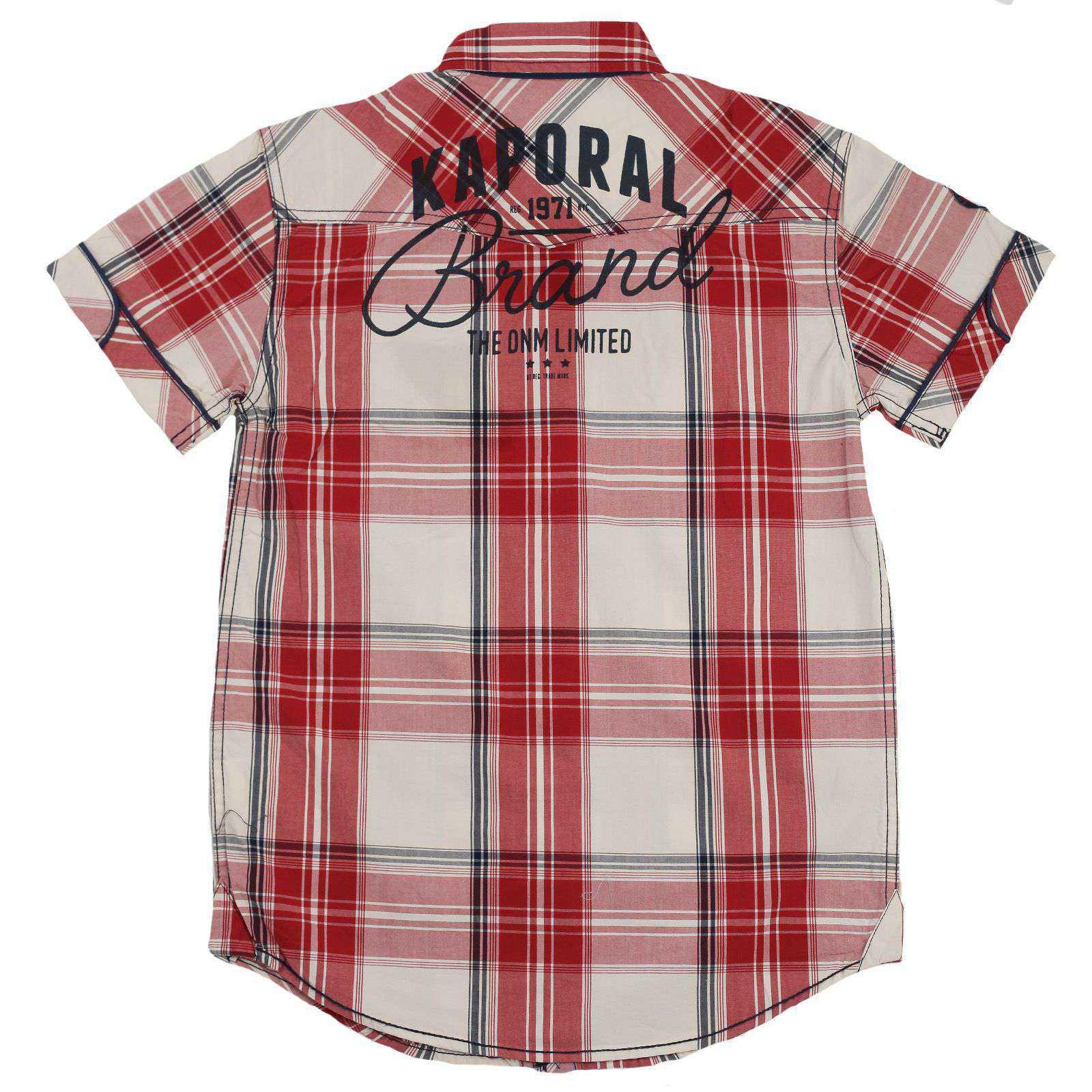 Рубашка для мальчиков в стиле casual от Kaporal (Франция) №29