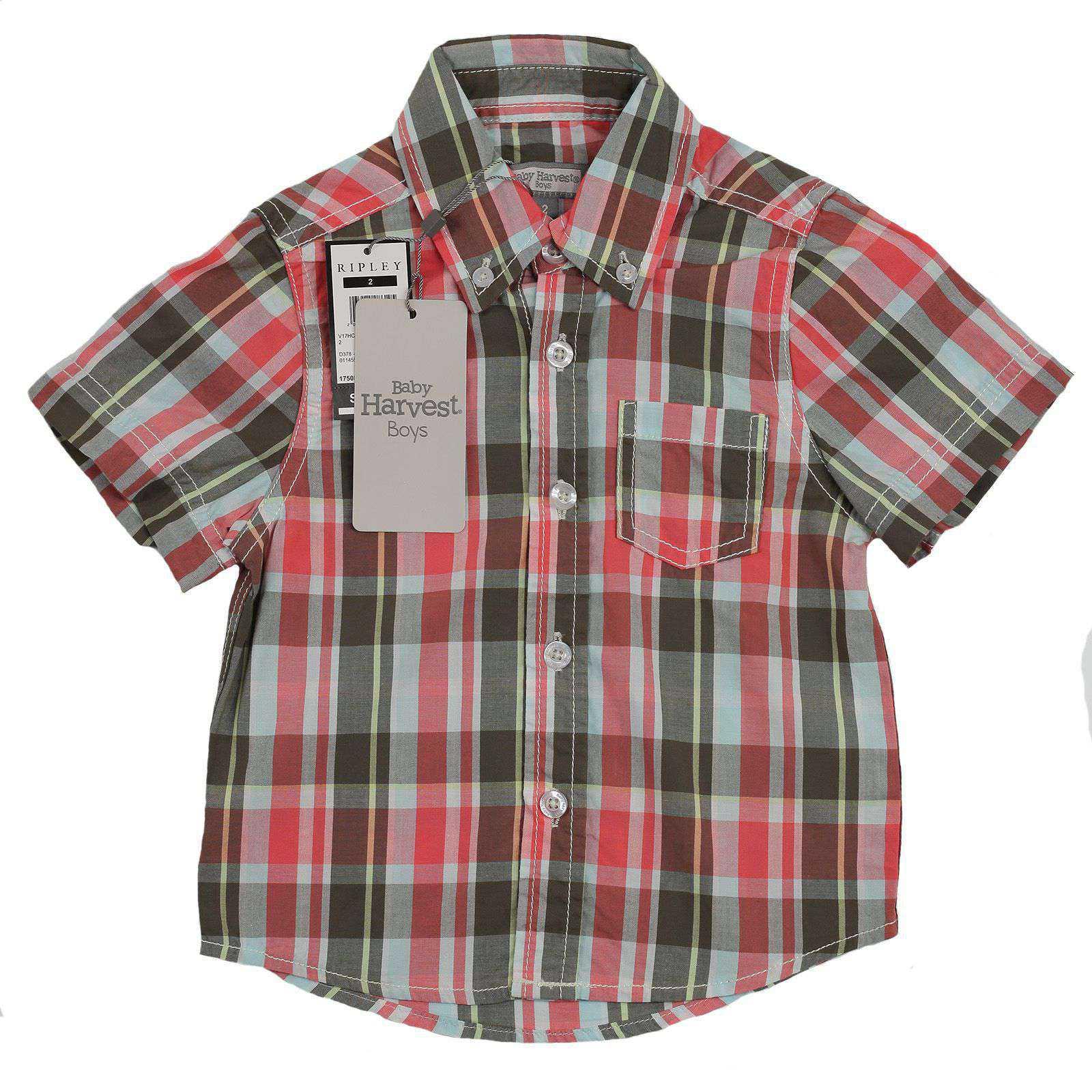 Рубашка для малышей Baby Harvest-вид спереди