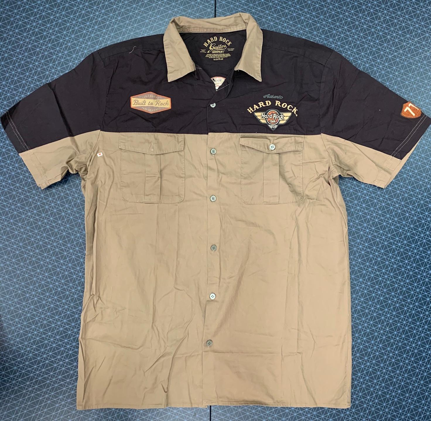 Рубашка двухцветная мужская НARD ROCK