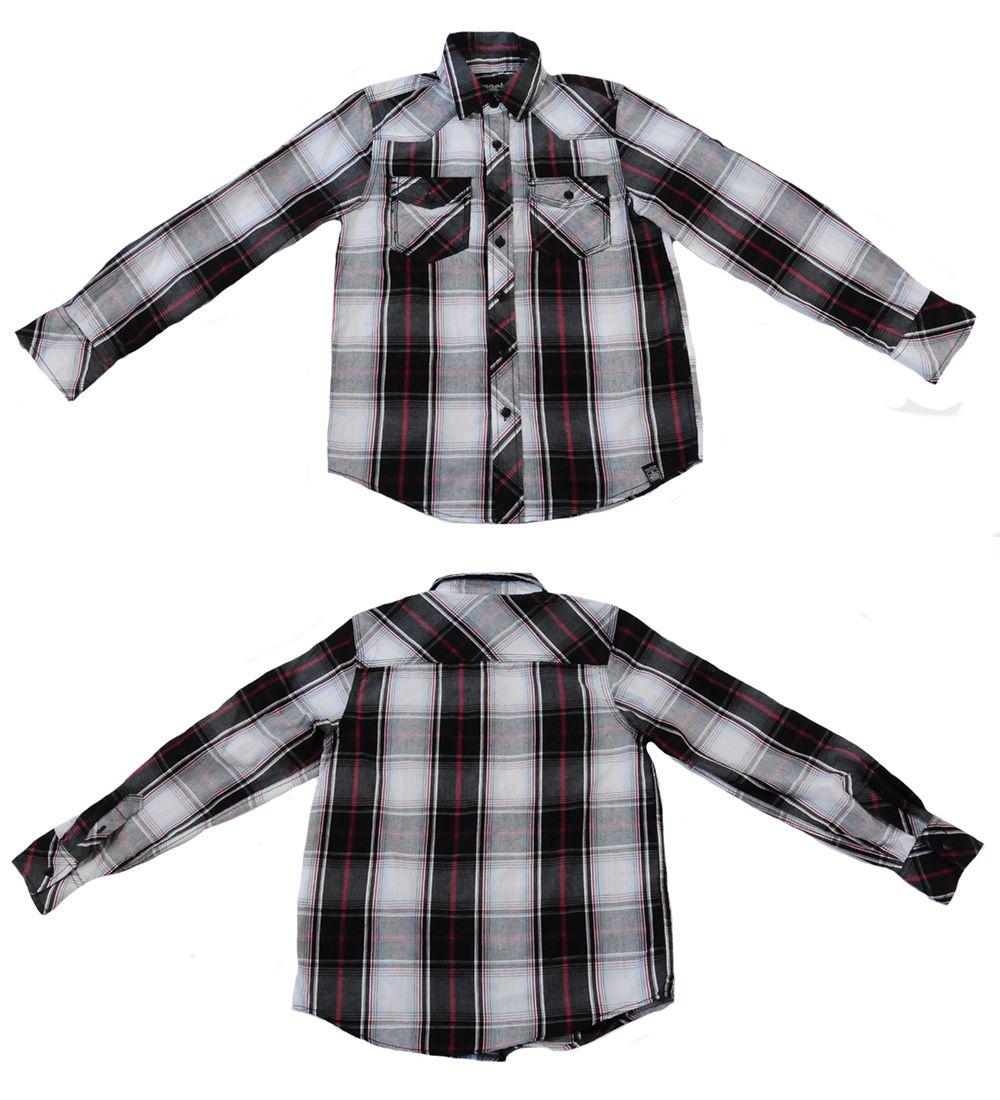 Рубашка клетчатая от Kity для мальчиков - общий вид