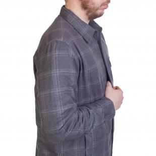 Теплая мужская рубашка Mantaray