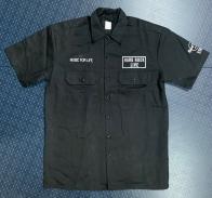 Рубашка мужская Hard Rock черного цвета