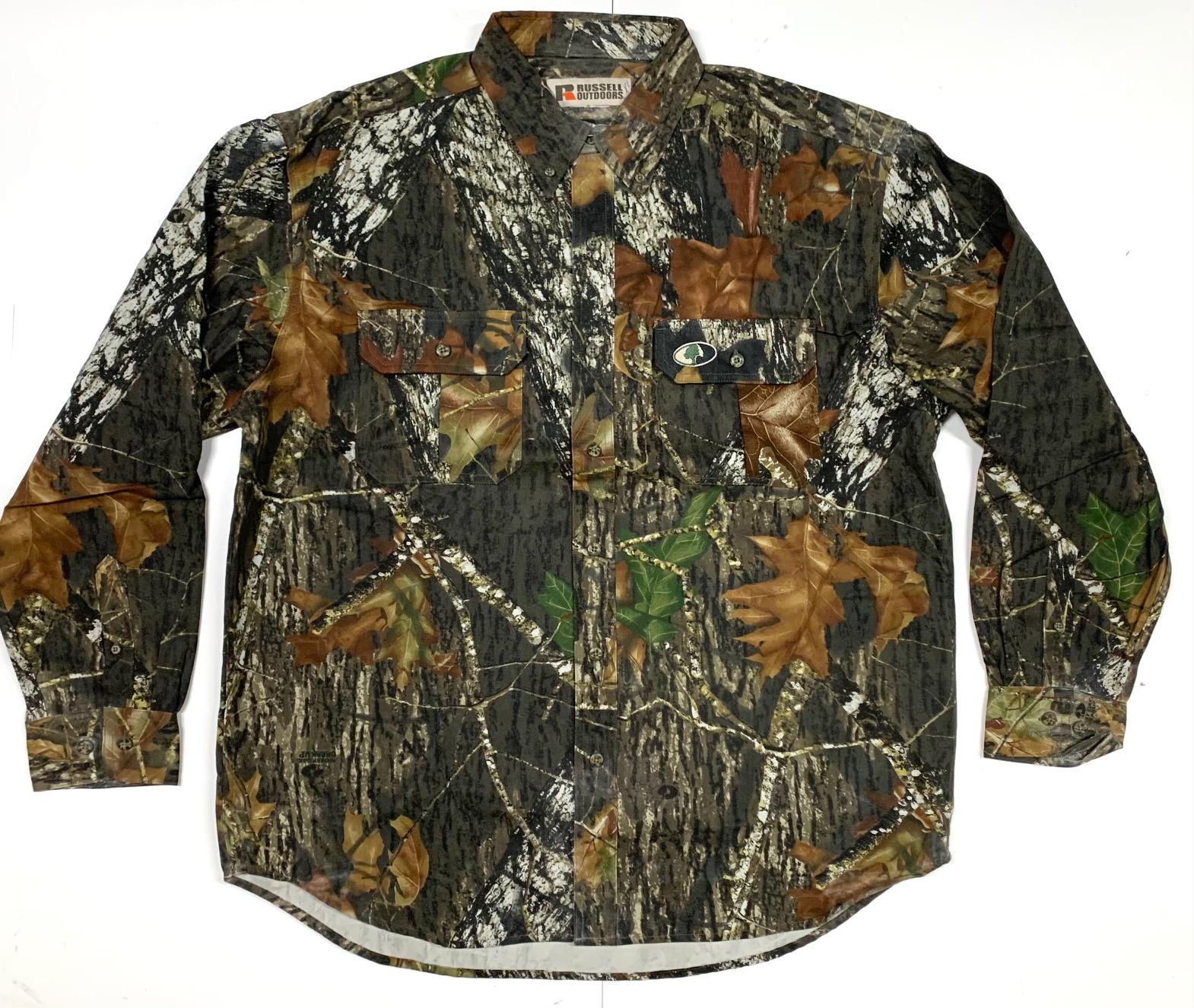 Рубашка мужская камуфляжная Russell Outdoors