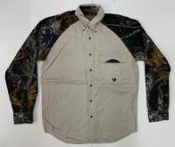 Рубашка мужская Mossy Oak с камуфляжными рукавами