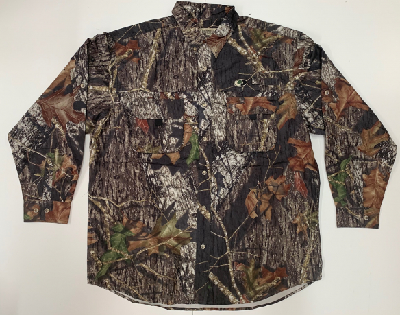 Рубашка мужская Russel Outdoors камуфляж лес