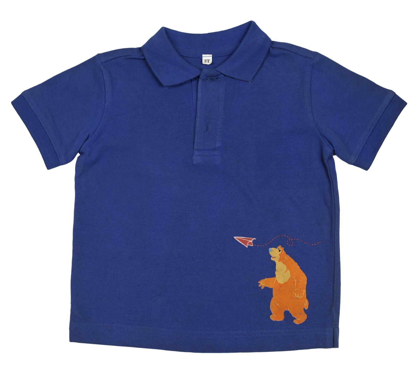 Рубашка-поло детская