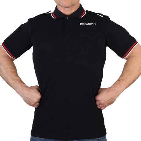 Рубашка-поло Полиции с коротким рукавом