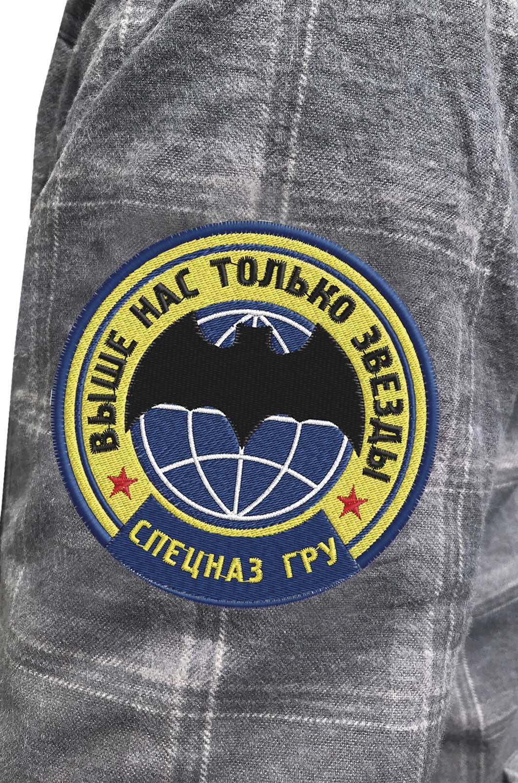 Рубашка с шевроном Спецназа ГРУ купить по выгодной цене