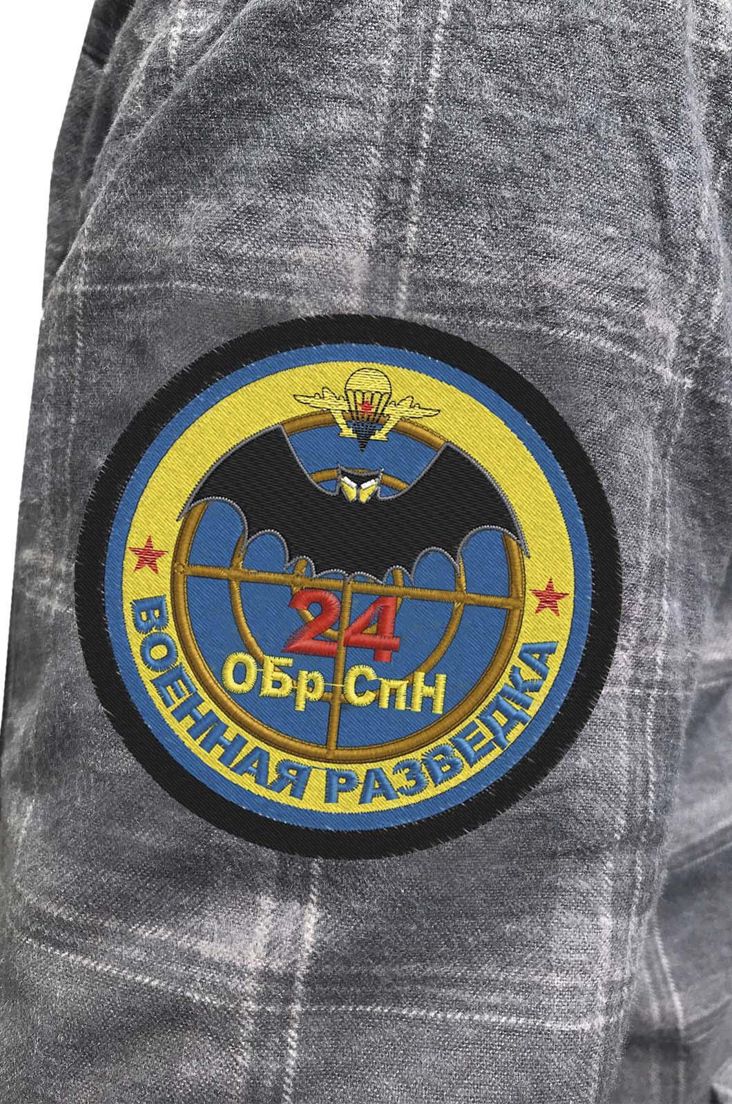 Рубашка с шевроном Военной разведки 24 ОБрСпН купить по лучшей цене