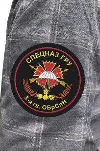 Рубашка серая с нашивкой 3-я ОБрСпН ГРУ купить оптом