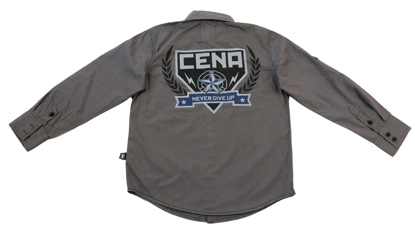 Рубашка для целеустремлённых подростков John Cena  Never give up №33