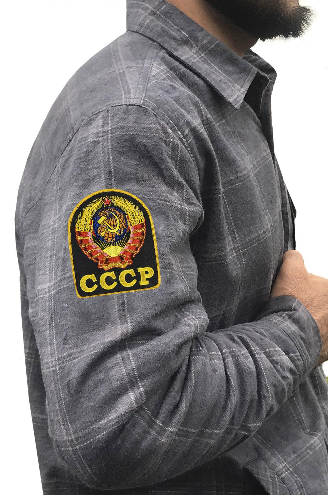 Рубашки с вышивкой СССР