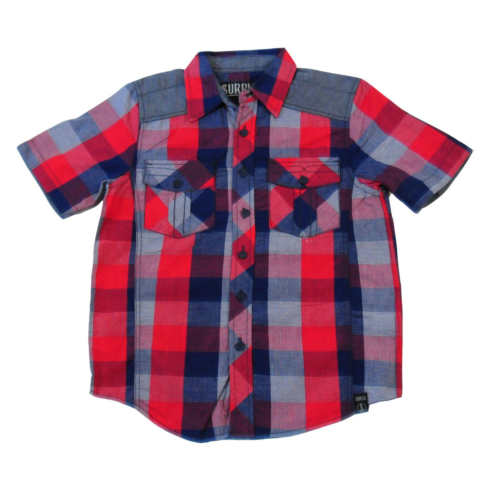 Рубашка-Surplus-для-стильных-мальчиков-вид-спереди
