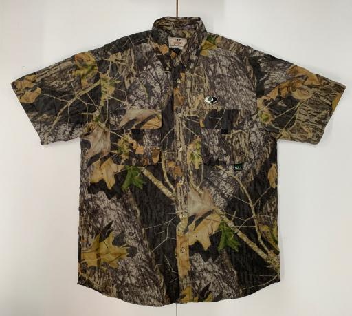 Рубашка топовая мужская  Mossy Oak камуфляж