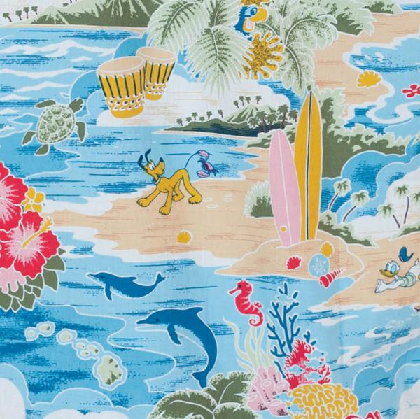 Рубашка в гавайском стиле от Disney с ярким принтом