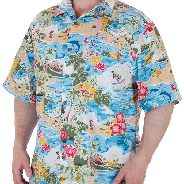 Рубашка в гавайском стиле от Disney