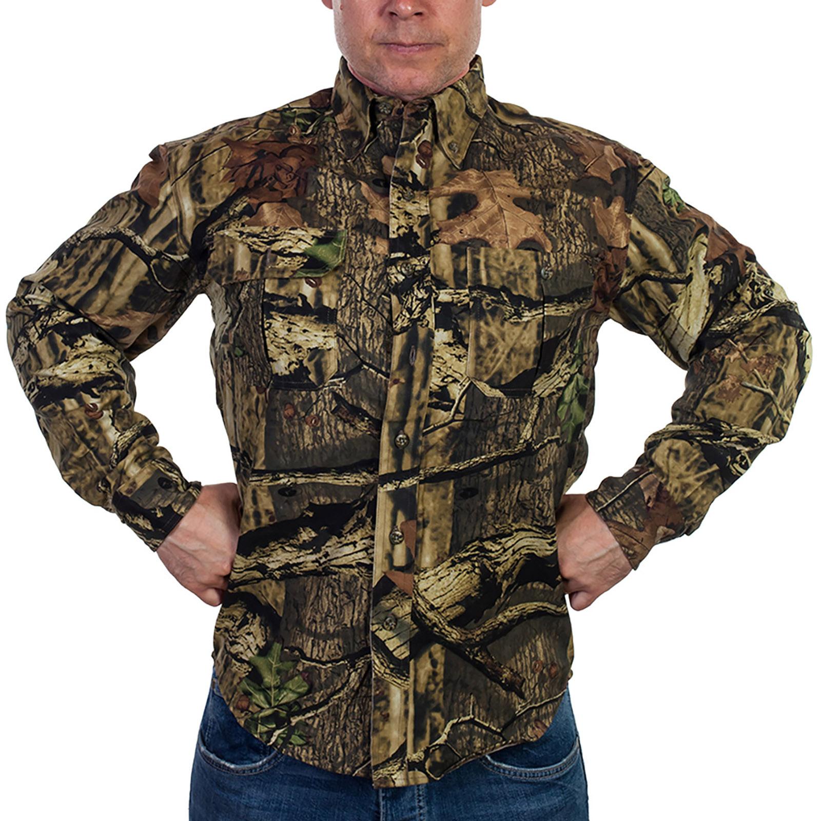Рубашка в стиле милитари от Mossy Oak (США)