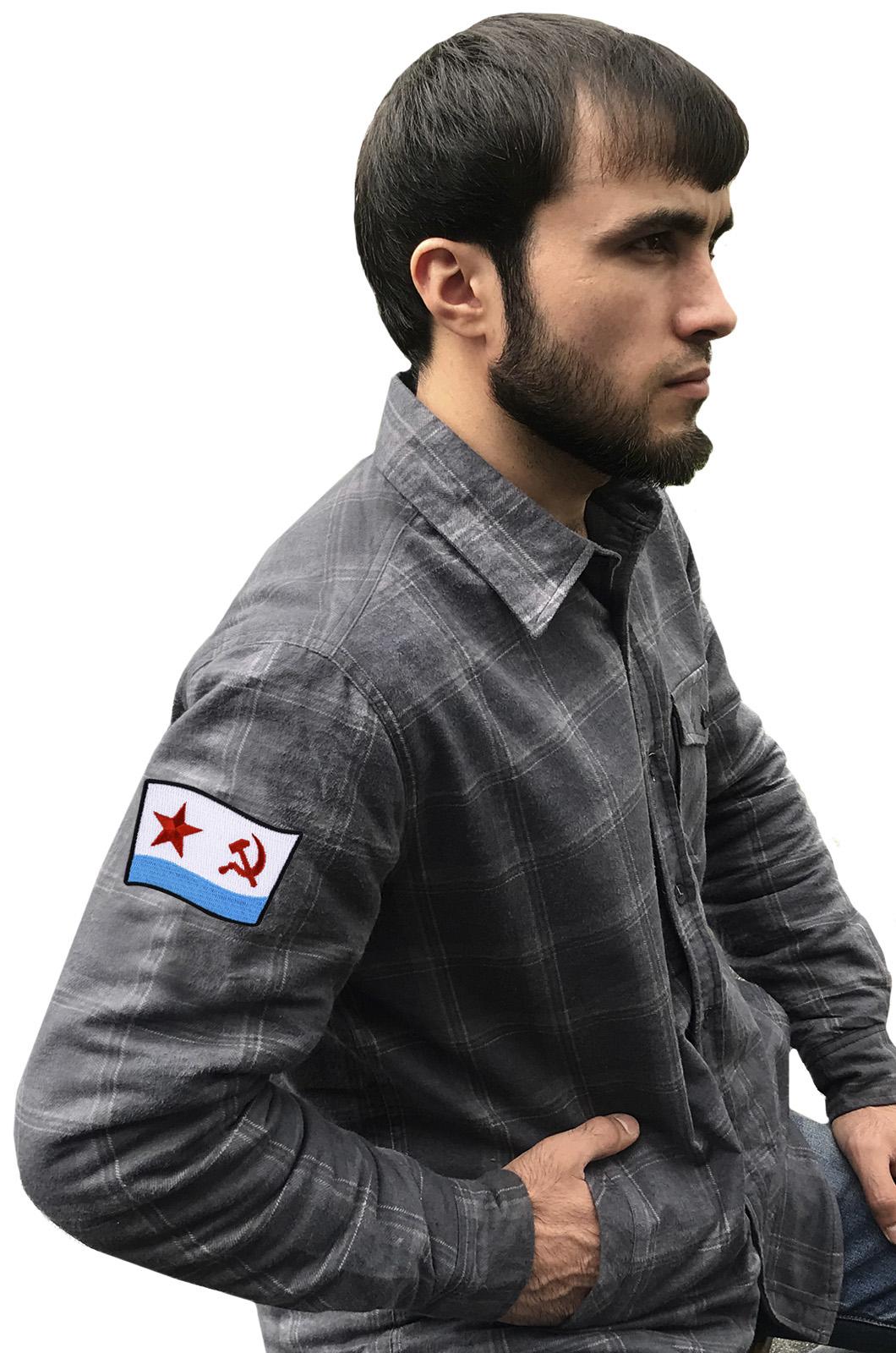 Рубашка «ВМФ СССР» из плотного уютного хлопка