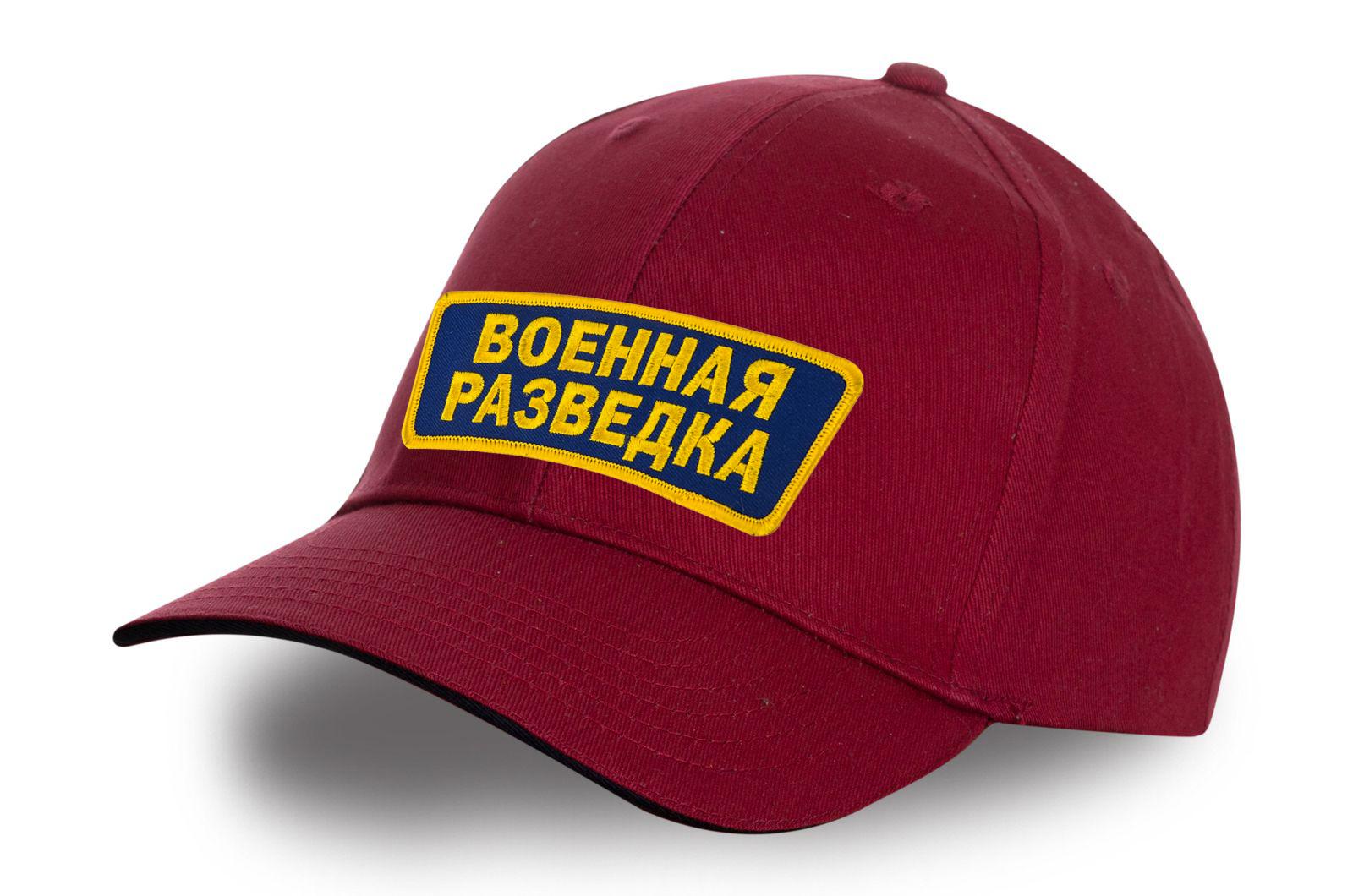 Рубиновая кепка Военная разведка.