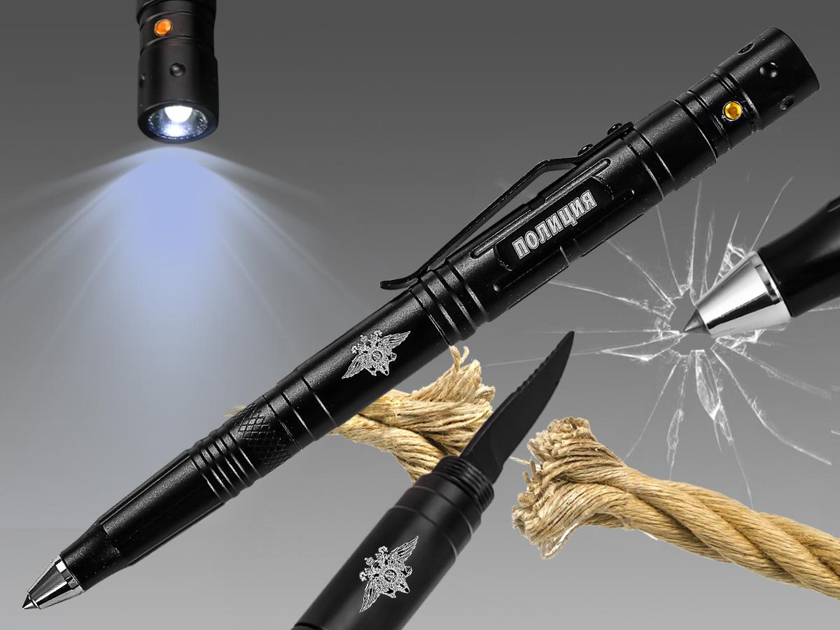 Тактическая ручка на подарок сотруднику МВД