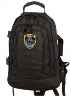 Черный мужской рюкзак Спецназа ГРУ
