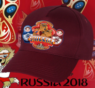 Рульная бейсболка РОССИЯ