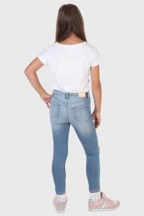 Рваные детские джинсы &Denim