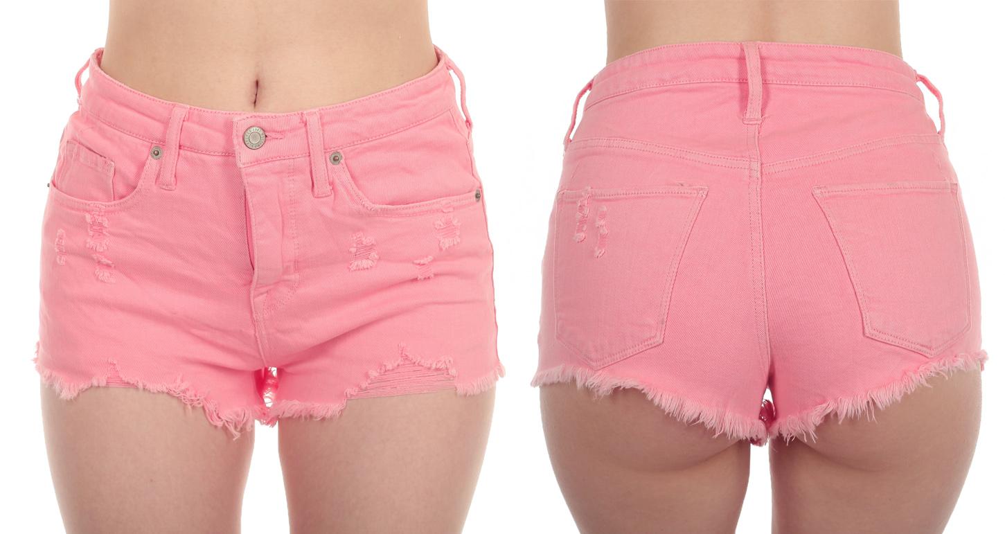 Женские рваные шорты от MOSSIMO