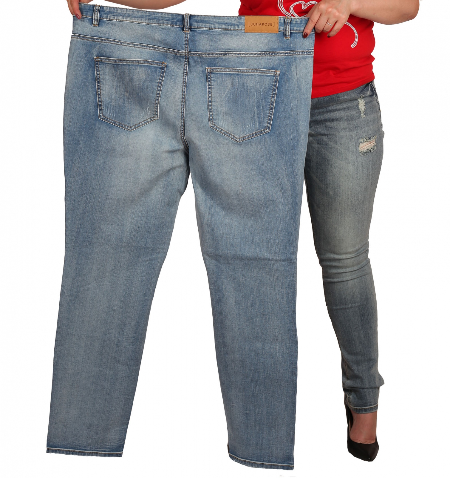 Самый большой размер джинсов для женщин уже в наличии в нашем магазине!
