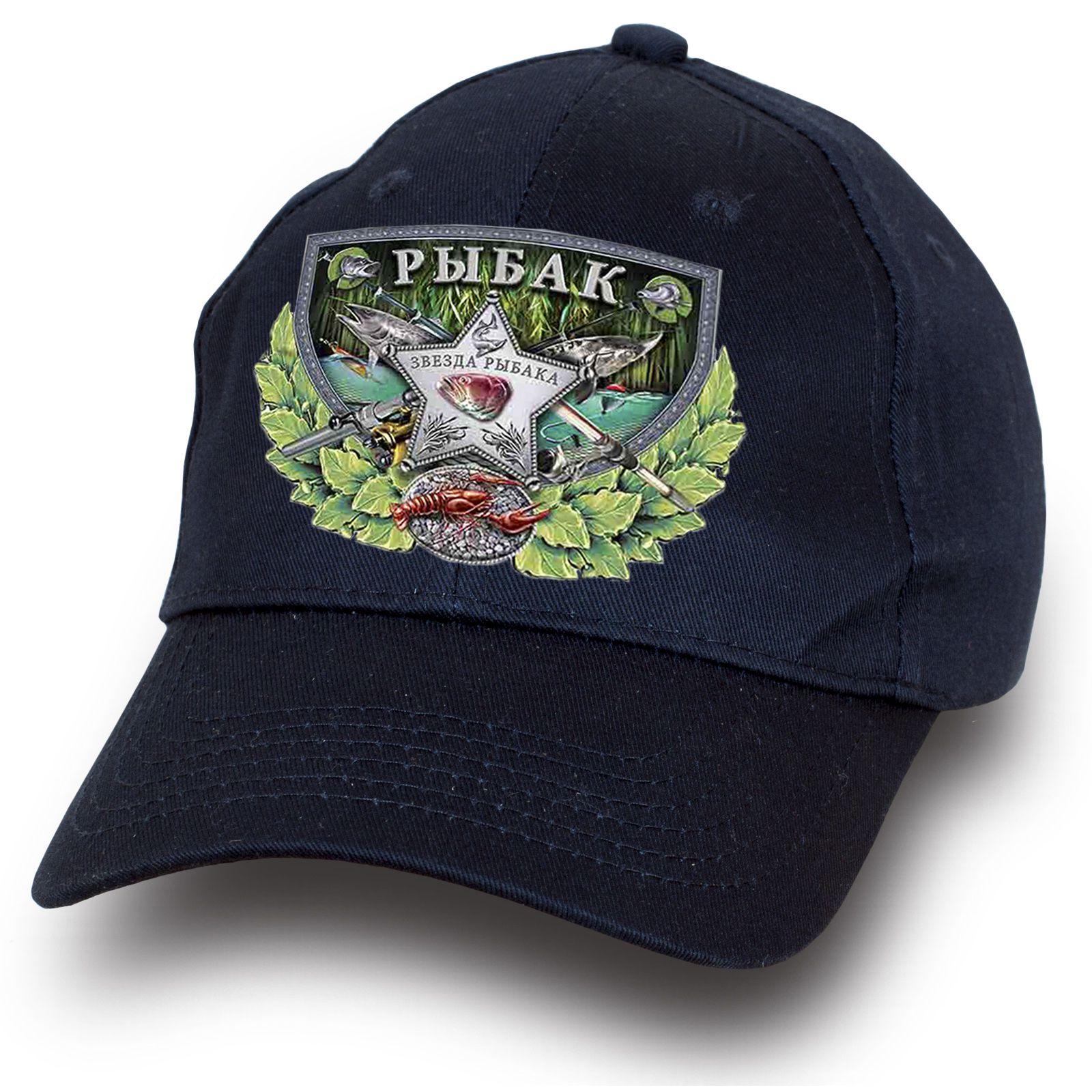 Рыбацкая кепка темно-синяя - купить по лучшей цене