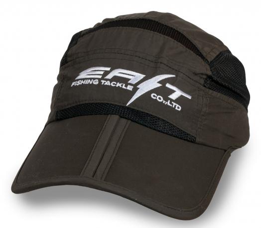 Рыболовная коричневая кепка оригинального дизайна