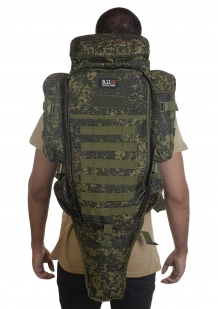 Рюкзак для карабина 75 литров (камуфляж цифра Армии России) недорого