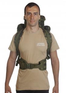 Рюкзак для карабина 75 литров (камуфляж цифра Армии России) с доставкой