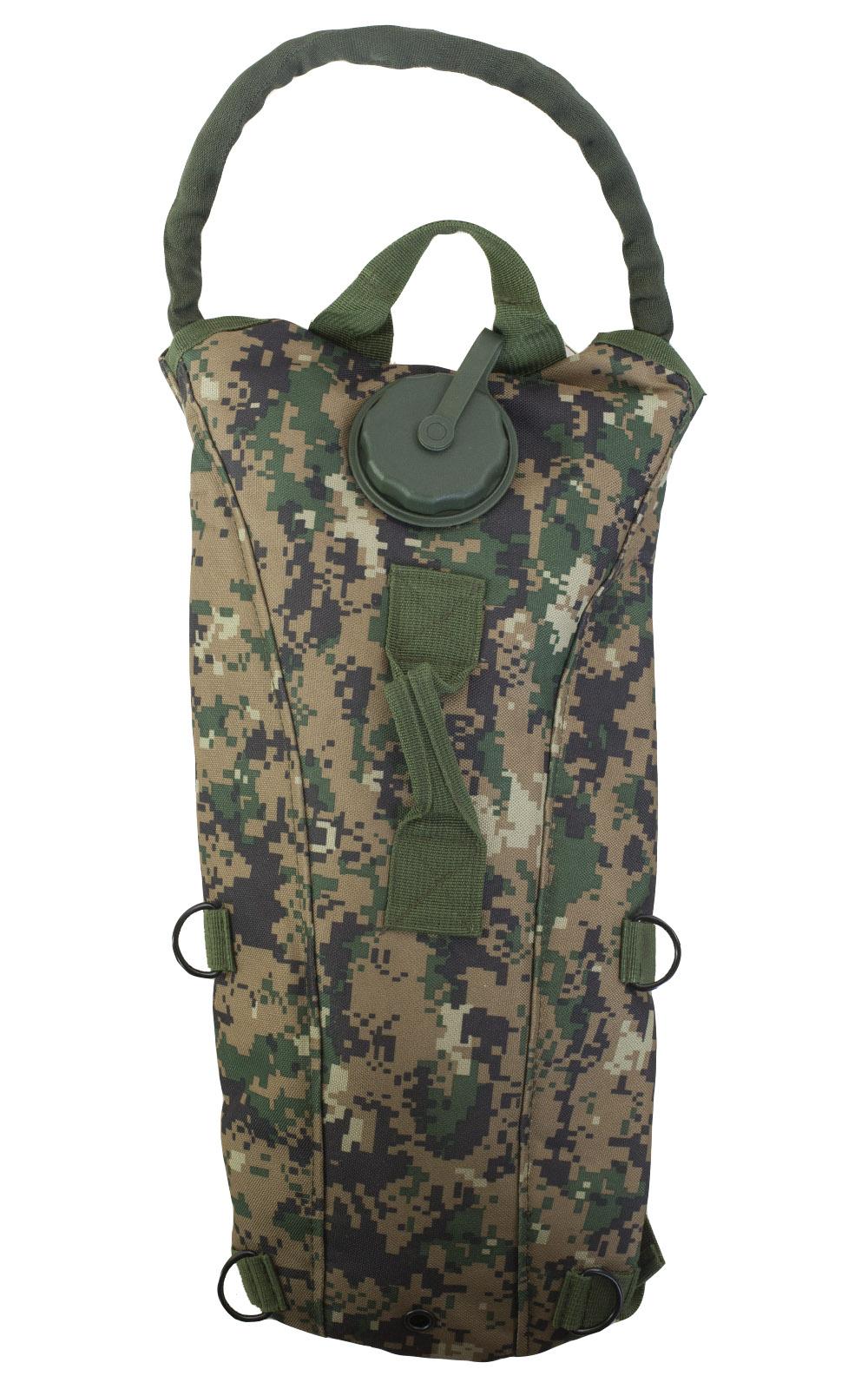 Рюкзак с гидропаком Digital Woodland и системой обвески