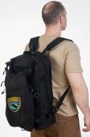 ЛУЧШИЙ подарок военному разведчику! Черный тактический рюкзак-ранец