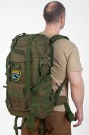 Рейдовый армейский рюкзак с шевроном Военная разведка