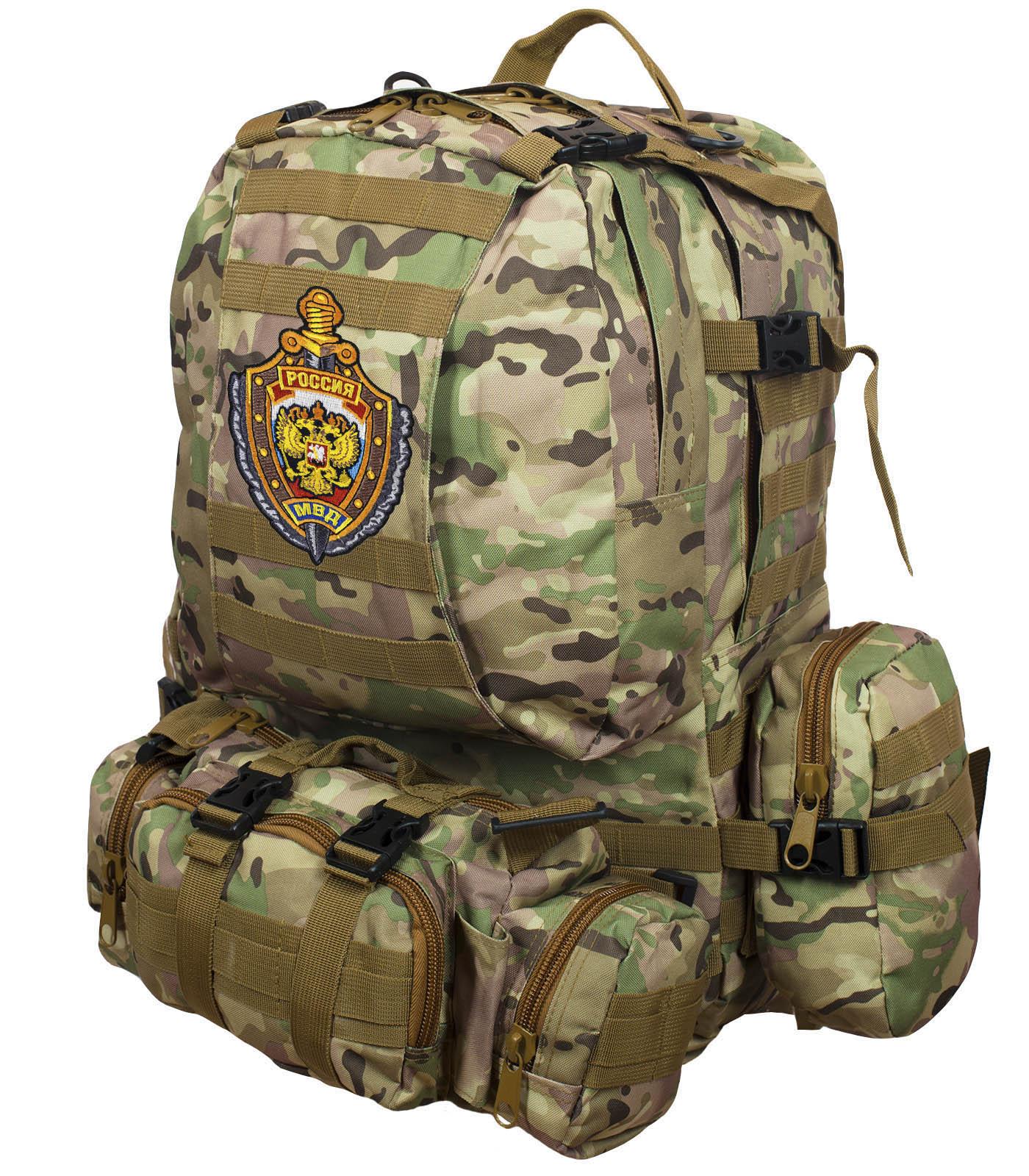 Рюкзак US Assault Pack Multicam с эмблемой МВД заказать в Военпро