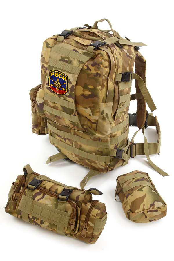 Рюкзак US Assault Pack Multicam с эмблемой РВСН - купить в розницу