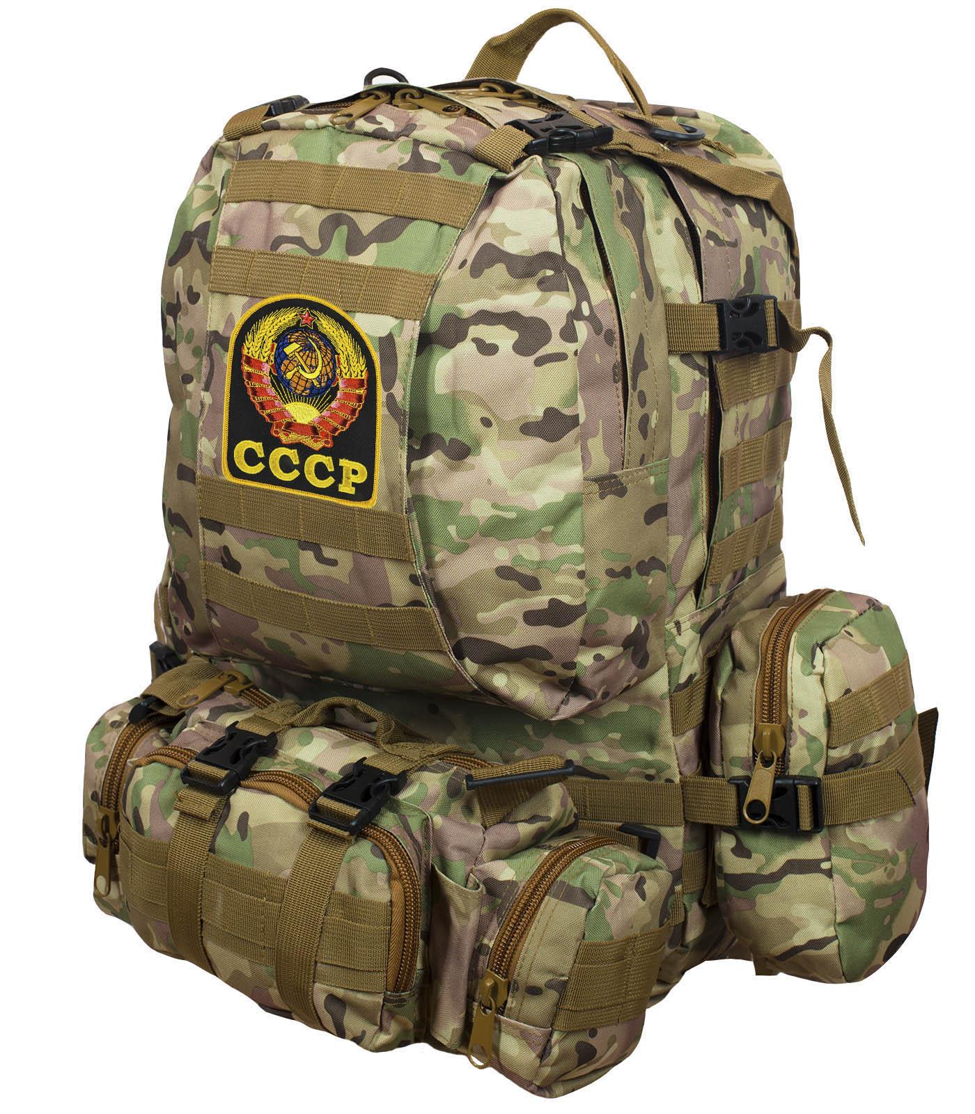 Рюкзак US Assault Pack Multicam с эмблемой СССР заказать в Военпро