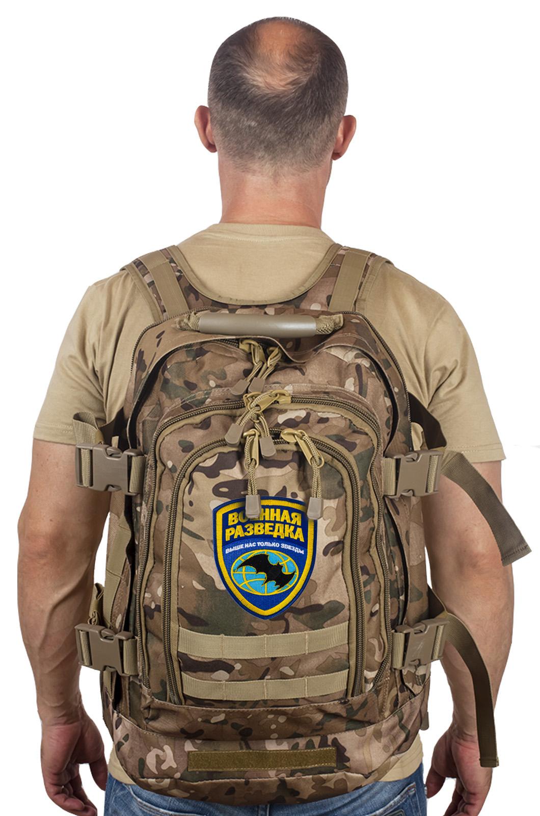 Лучшие тактические рюкзаки 3-Day Expandable Backpack 08002B для Военной разведки