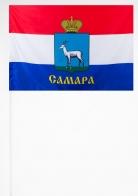 Самарский флажок на палочке